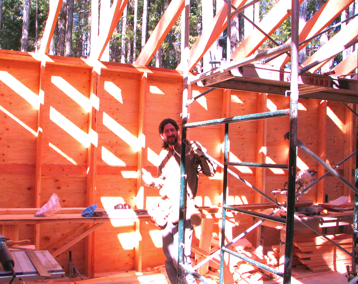 DIY – Rafter Raising and Roofing