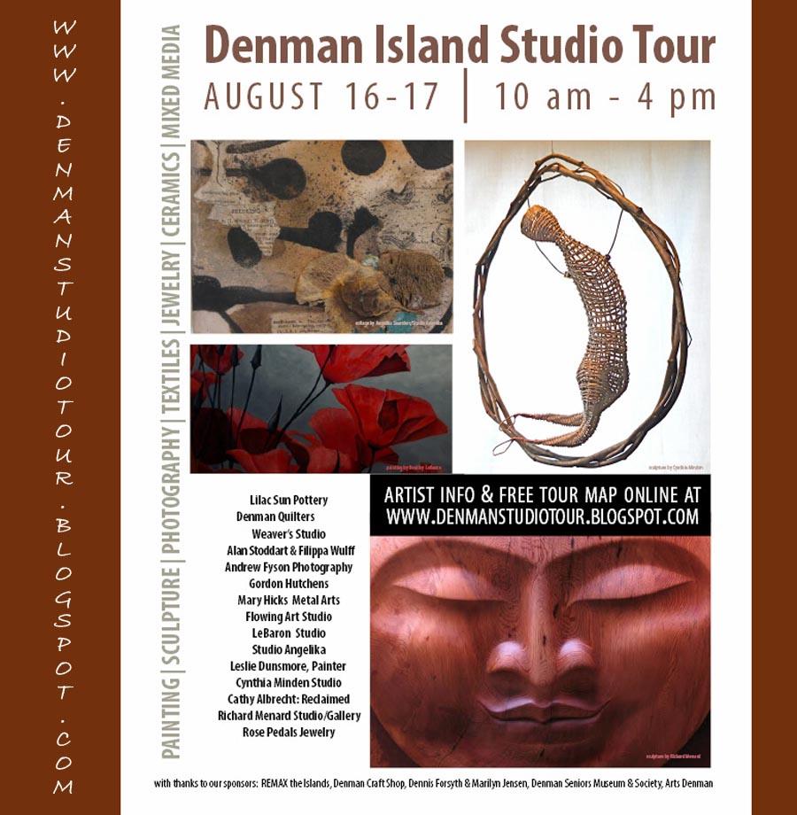 Denman Island Studio Tour 2014